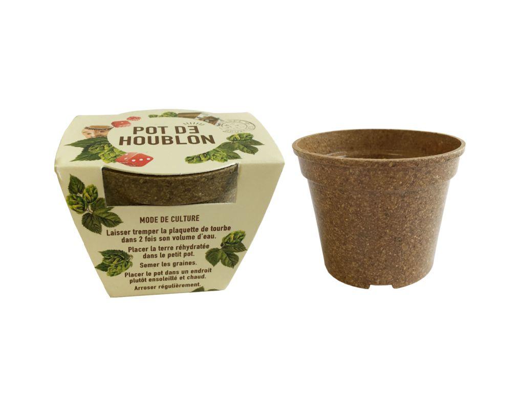 Kit Jardin Ecolo - kit de plantation publicitaire