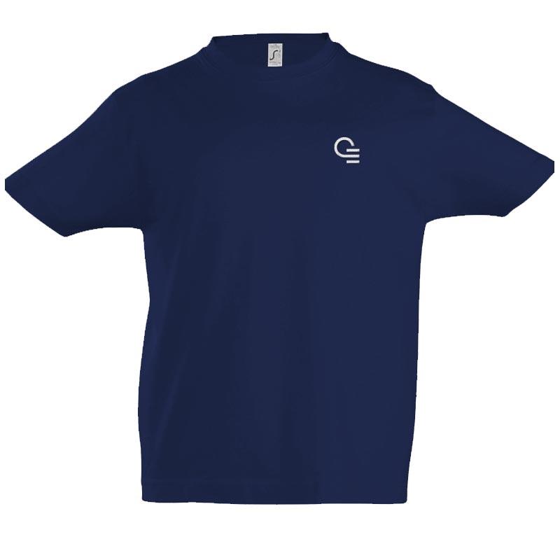 tee-shirt personnalisé pour enfant imperial - coloris bleu