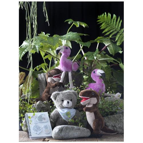 Carnet personnalisé créatif Jungle - Cadeau publicitaire pour enfants