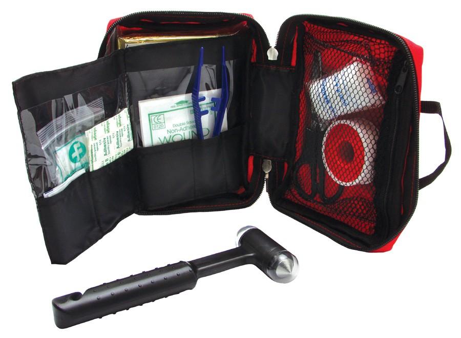 Trousse de secours personnalisable XL - objet publicitaire sécurité