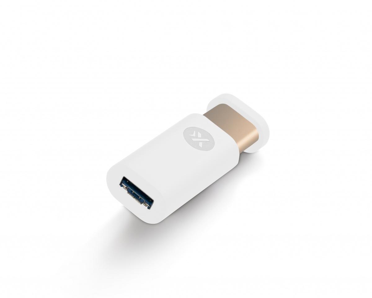 clé USB personnalisée rubber et alu click & push - cadeau publicitaire high-tech