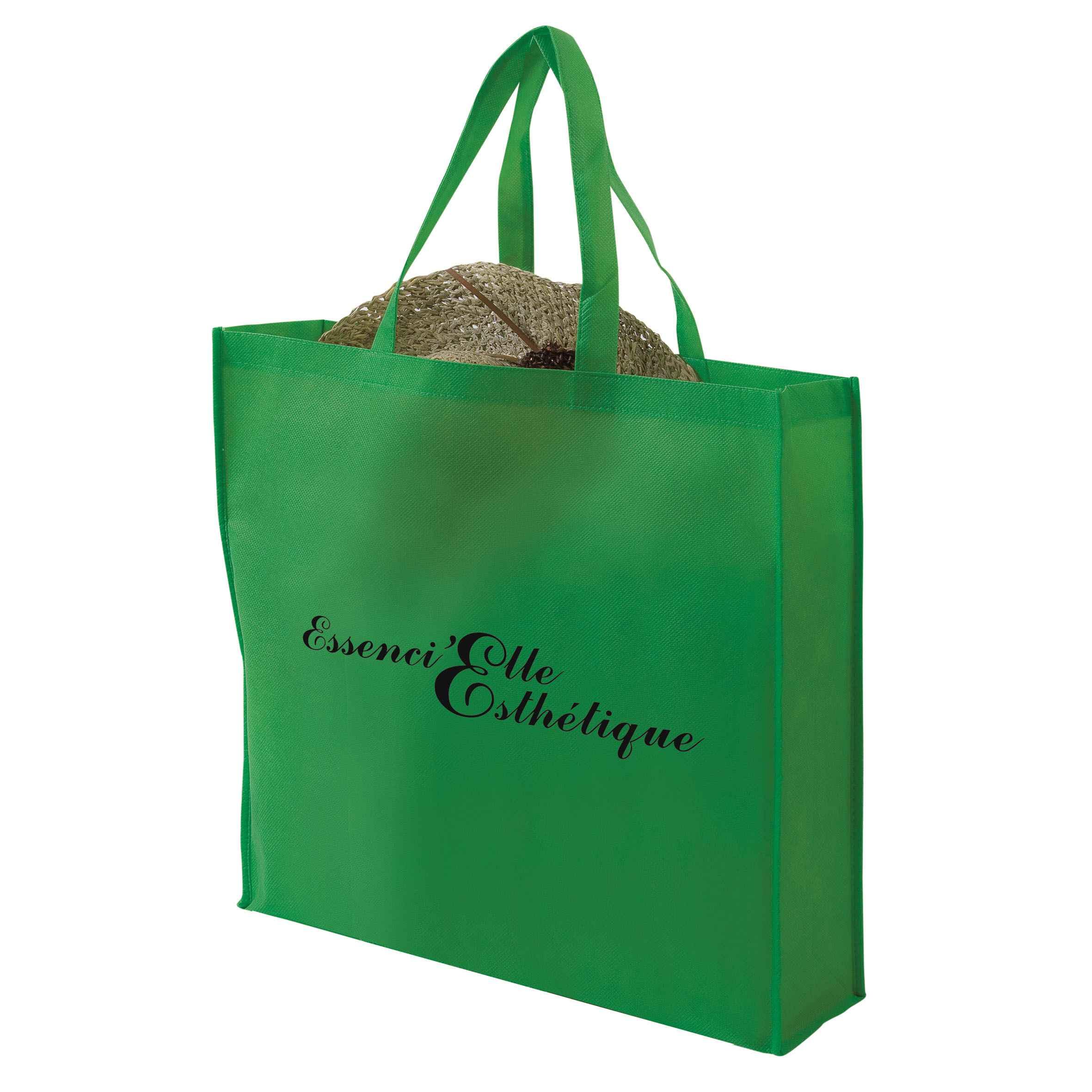 Sac shopping publicitaire pliable non tissé Pochette - Objet promotionnel