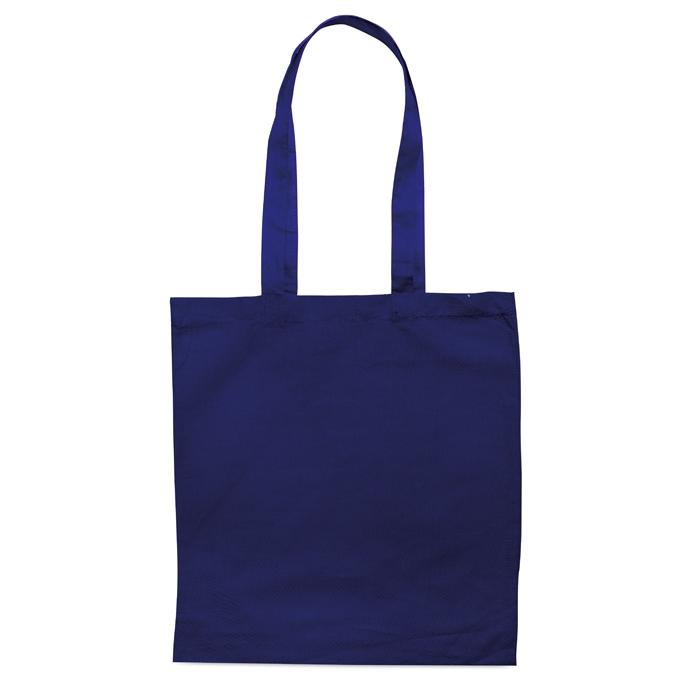 Sac en coton publicitaire 140 g Cottonel + - sac shopping personnalisé noir