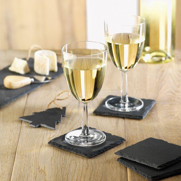 Cadeau publicitaire pour Noël - Sous-verres en ardoise Slate4