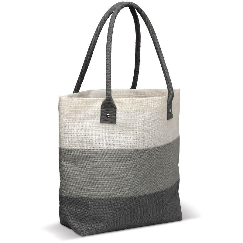 sac shopping publicitaire écologique - Sac en jute personnalisable Eloi