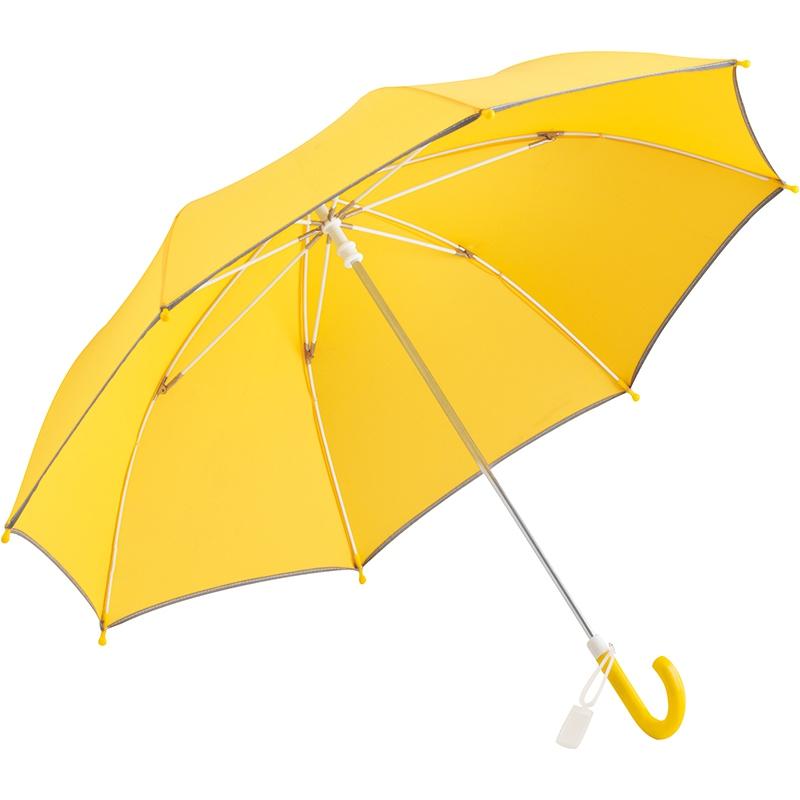 Parapluie personnalisé enfant Yellow - Cadeau publicitaire pour enfant