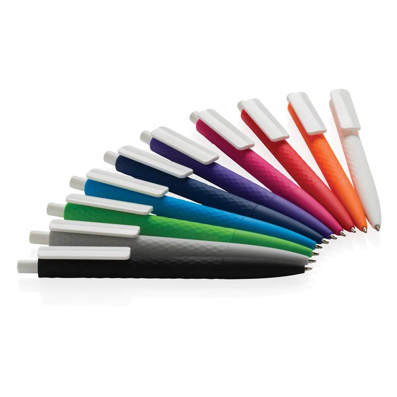 Stylo bille publicitaire X3 Smooth Touch rose - stylo personnalisable