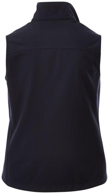 Textile publicitaire- Bodywarmer publicitaire Softshell Stinson femme - marine
