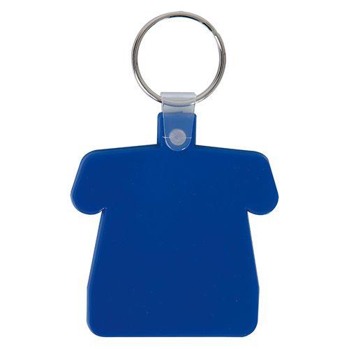 Porte clef personnalisé en forme de maillot souple
