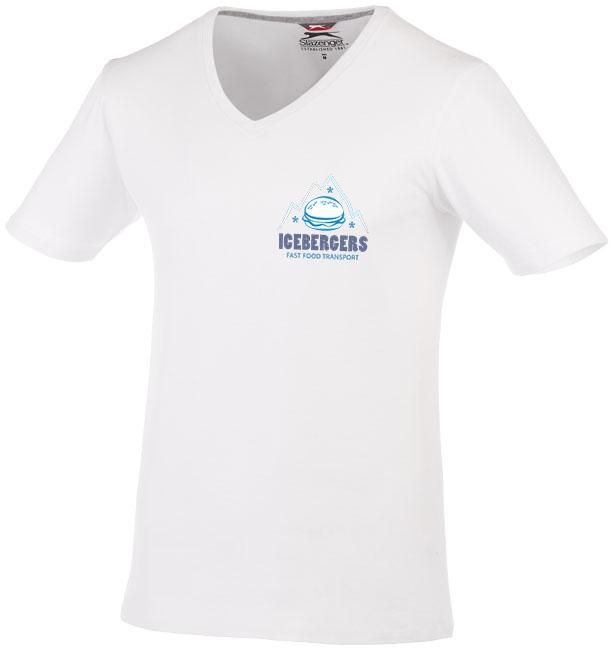 T-shirt publicitaire manches courtes homme Bosey - blanc