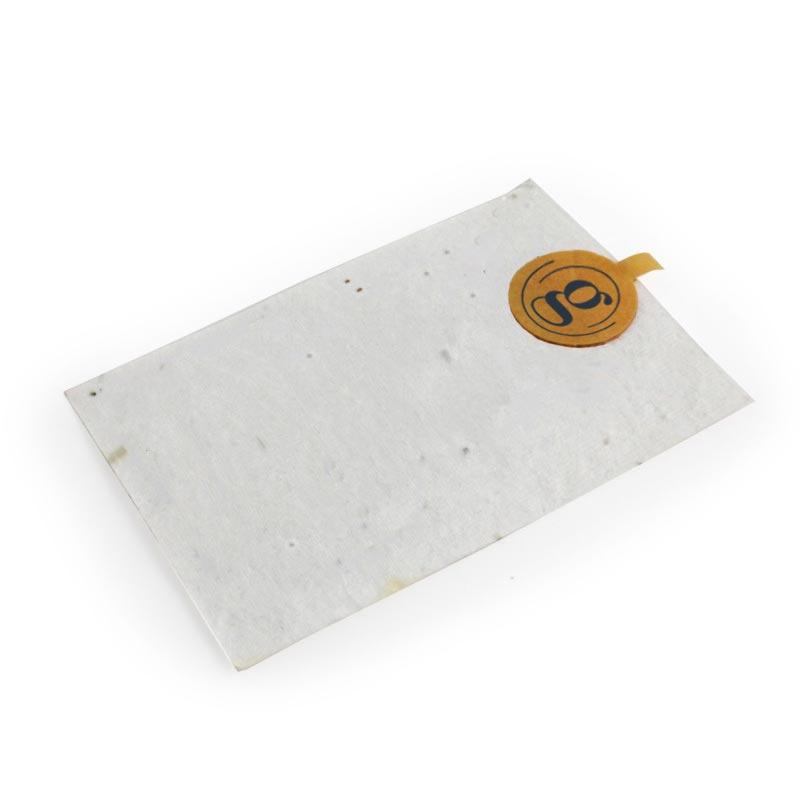 Badge personnalisé à graines pour événements d'entreprise