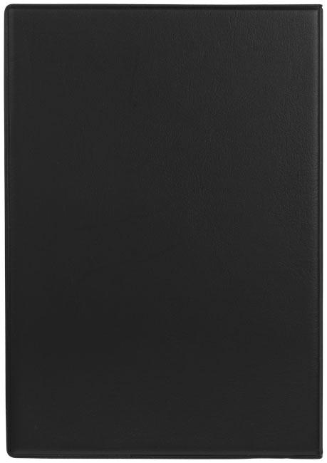 Carnet de notes publicitaire Tasker A5 - carnet personnalisé noir