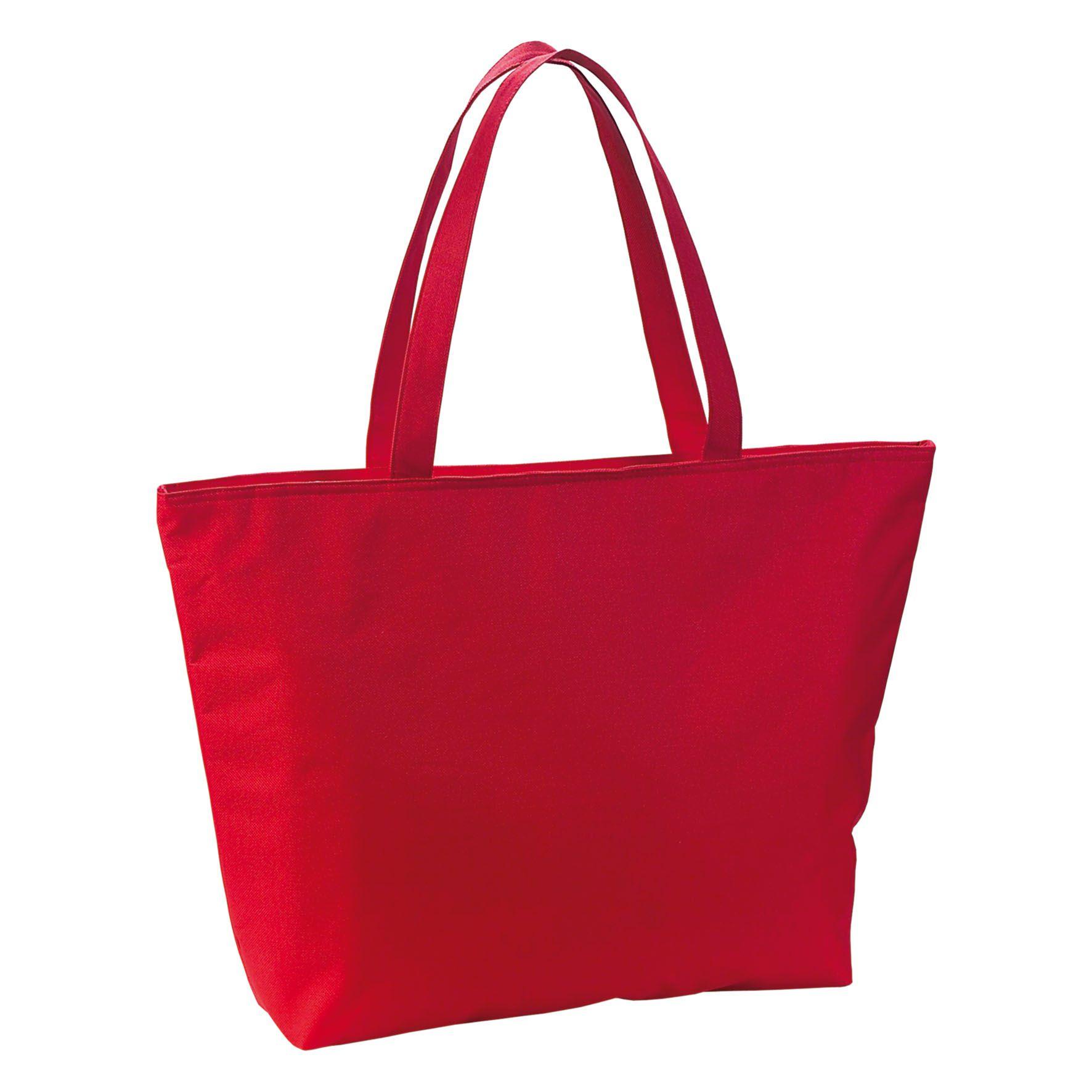 Cadeau d'entreprise - Sac publicitaire isotherme Icebag- rouge