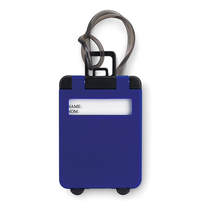 Étiquette de bagage en plastiq MO8718-03