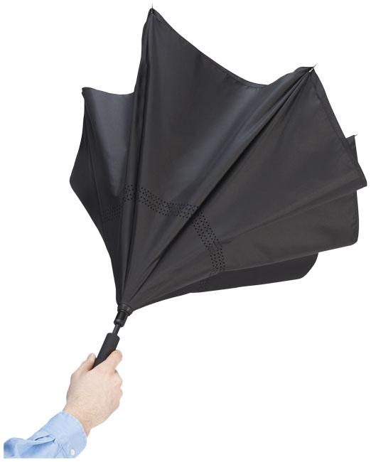 """Parapluie publicitaire réversible 23"""" Lima - cadeau d'entreprise"""