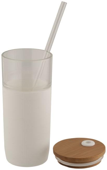 Mug personnalisé en verre Arlo