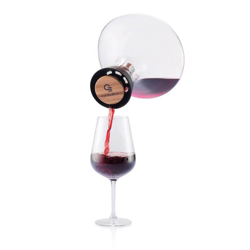 Cadeau d'entreprise de fin d'année - Carafe vin rouge Aerato