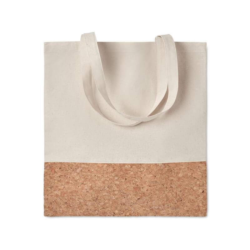 Goodies écologique - Sac shopping coton et liège ILLA