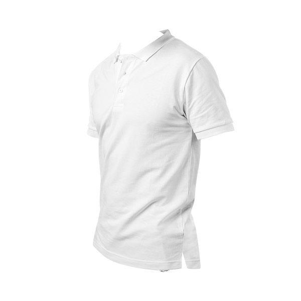 Polo publicitaire pour homme Monacoco blanc - textile publicitaire