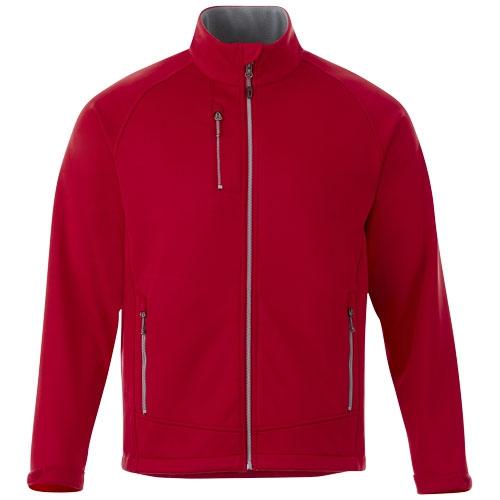 Veste sofshelle publicitaire Chuck - veste polaire publicitaire rouge