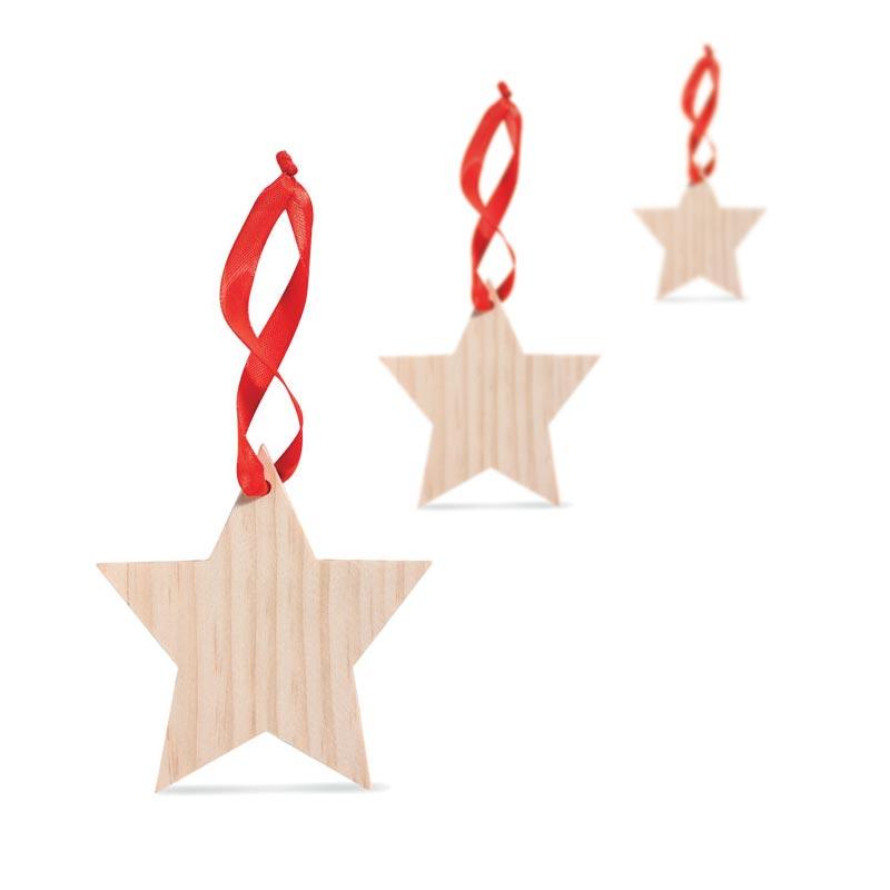 Cadeau d'entreprise de fin d'année - Étoile à accrocher Woostar