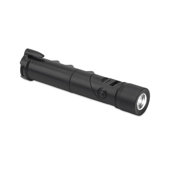 Chargeur allume-cigare personnalisé avec fonction torche sécurité Torchpower - cadeau publicitaire