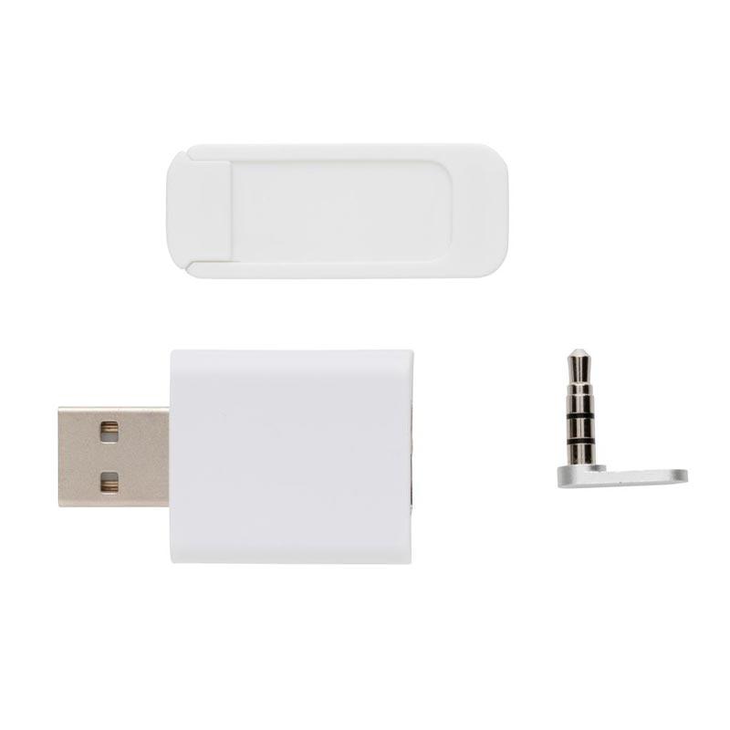 Kit de confidentialité numérique Digisecure blanc