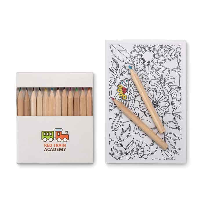 Set de dessin publicitaire adulte Paint&Relax - cadeau publicitaire bien-être