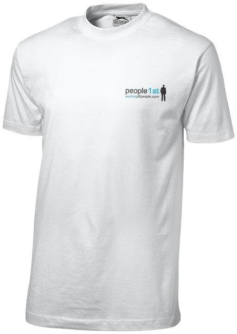 Tee-shirt publicitaire manches courtes pour homme Slazenger™ Ace vert eau