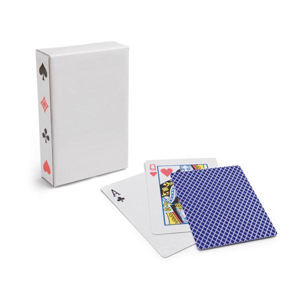 Jeu de cartes publicitaire Queen of Hearts - goodies