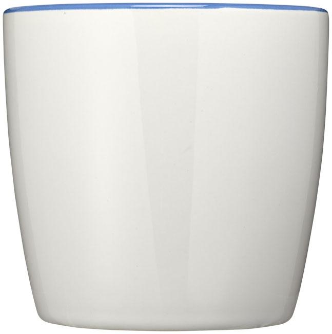 Mug publicitaire Aztec blanc et bleu