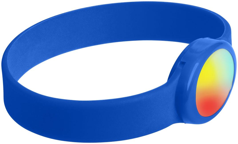 Bracelet publicitaire en silicone à Led Tico - vert