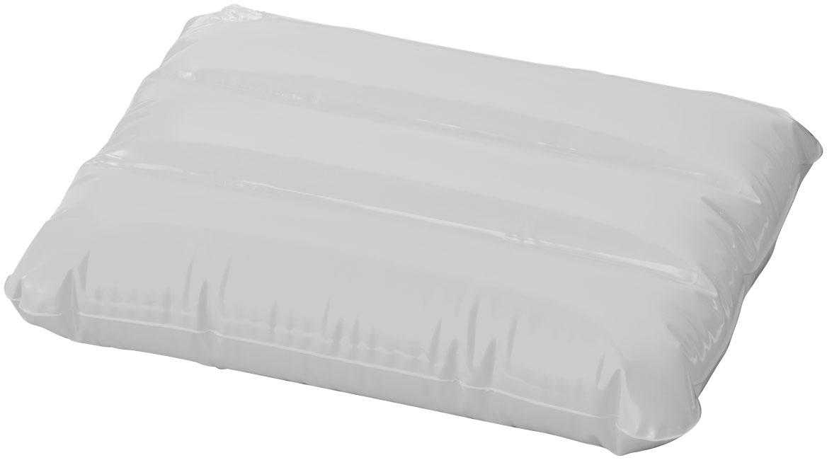 Objet publicitaire pour l'été - Oreiller gonflable Wave - blanc