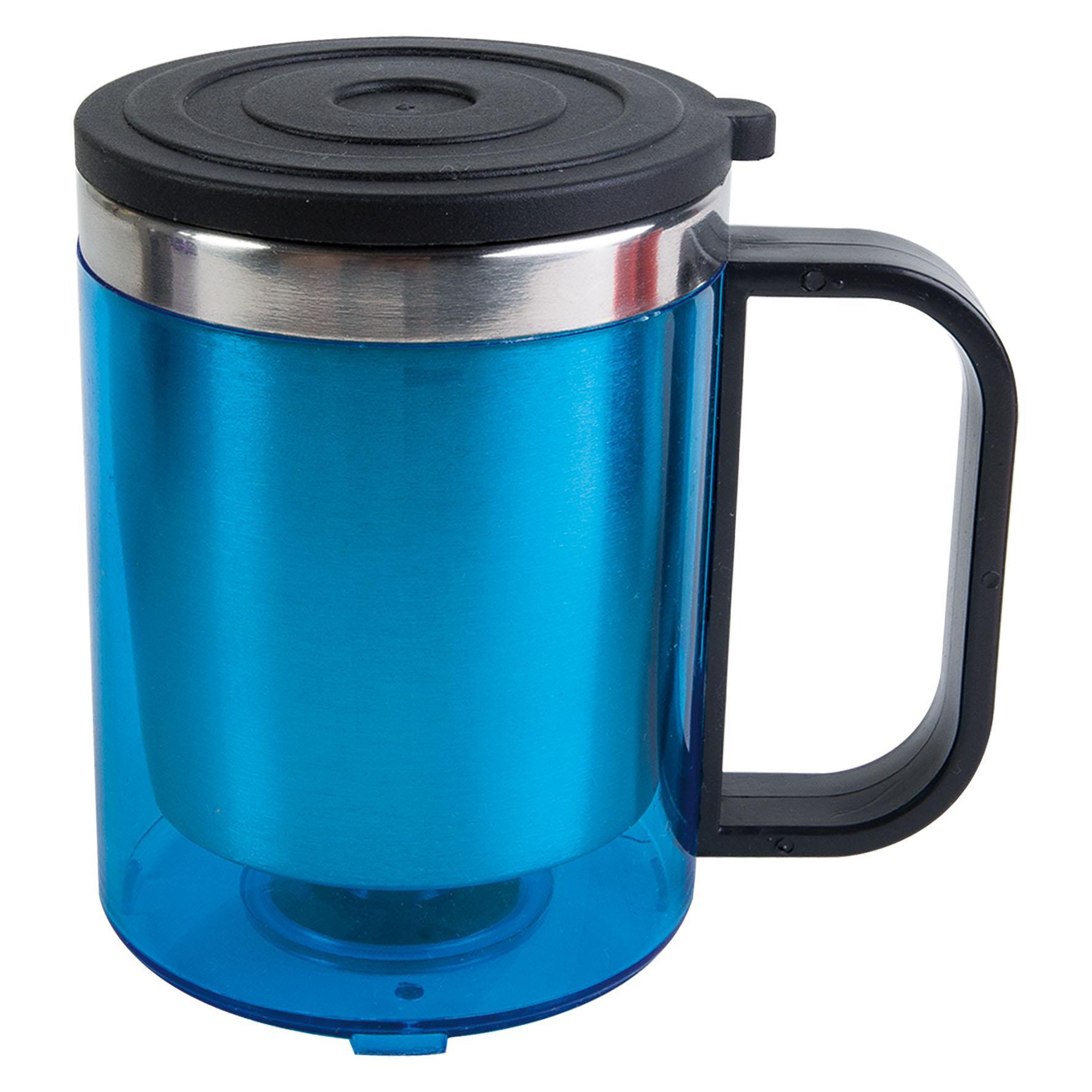 Mug isotherme 22 cl Double - Mug personnalisable - violet