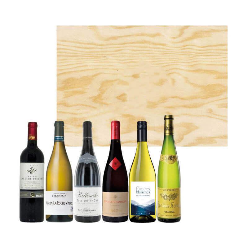 Vin publicitaire - Coffret vin 6 bouteilles Tour de France