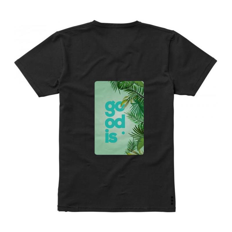 T-shirt bio personnalisé manches courtes homme Kawartha