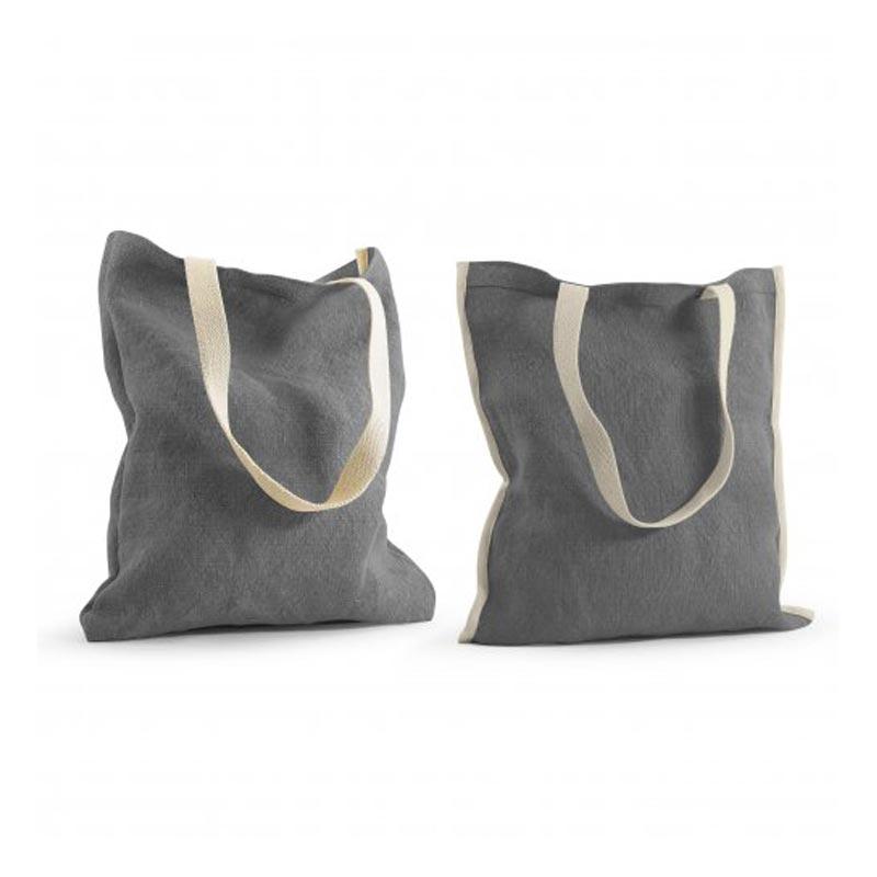 tote bag publicitaire réversible topday gris
