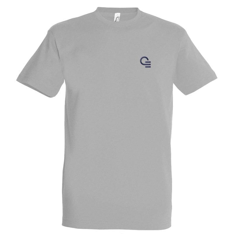 tee-shirt personnalisé imperial homme gris