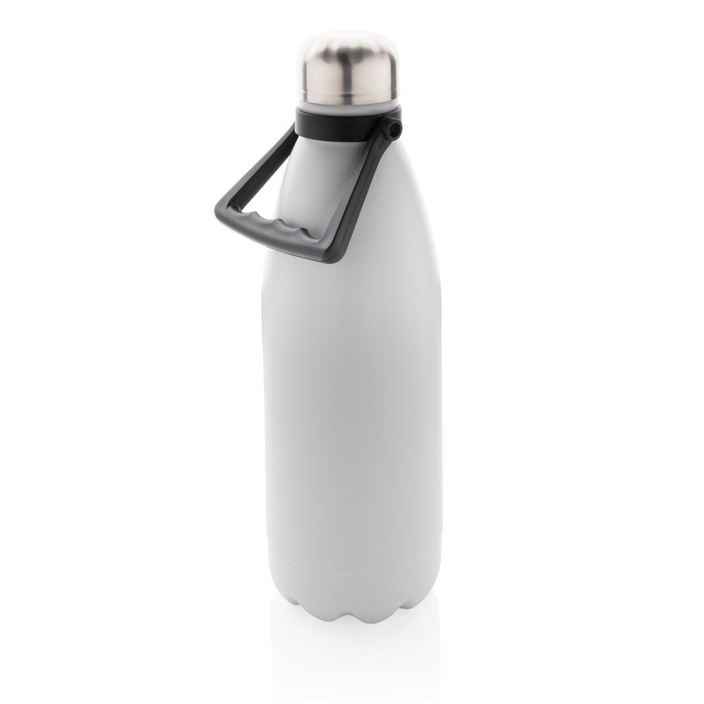 Bouteille isotherme publicitaire Handia blanche 1,5 L