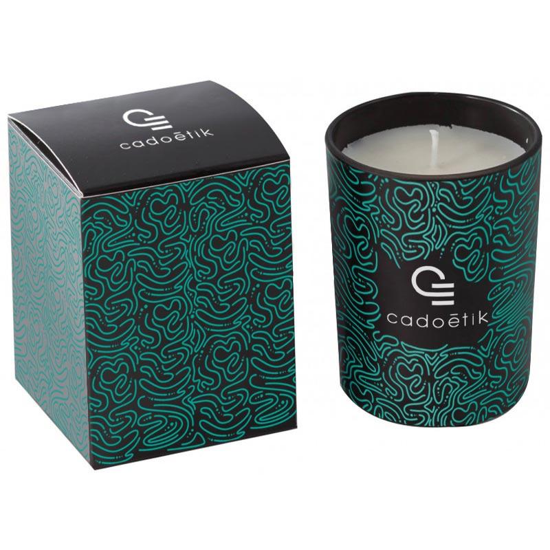 Bougie publicitaire parfumée Woogie - Cadeau de fin d'année