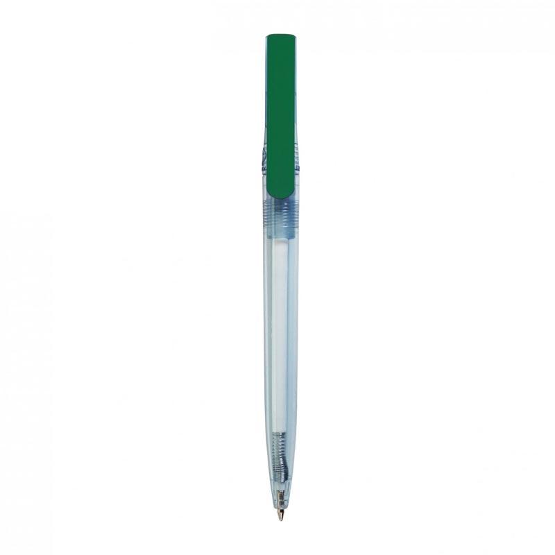stylo bille publicitaire en rpet Dam vert