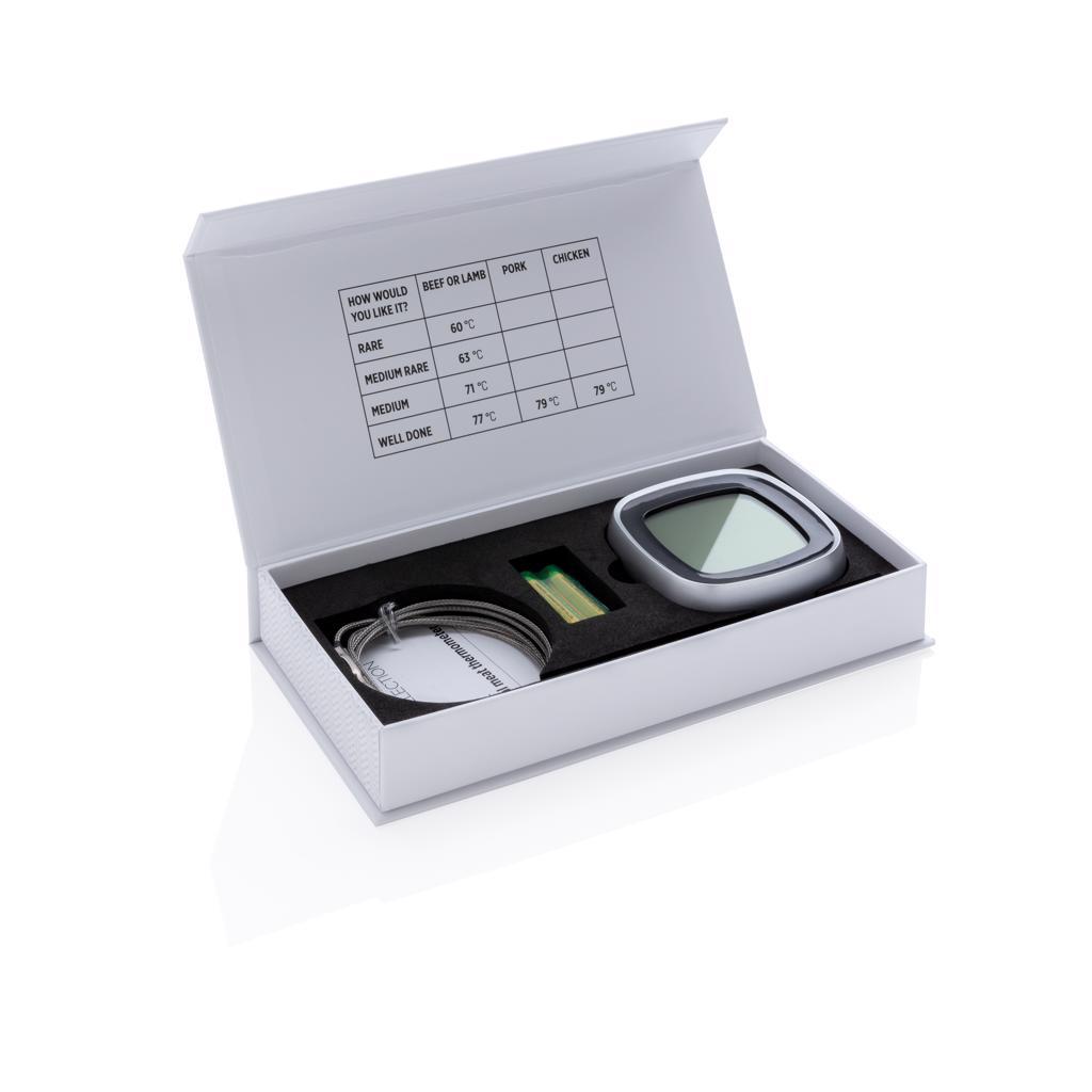 Coffret cadeau publicitaire pour thermomètre alimentaire numérique
