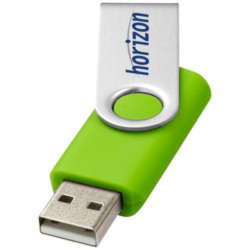 Goodies high-tech - Clé USB publicitaire Rotative 2Go