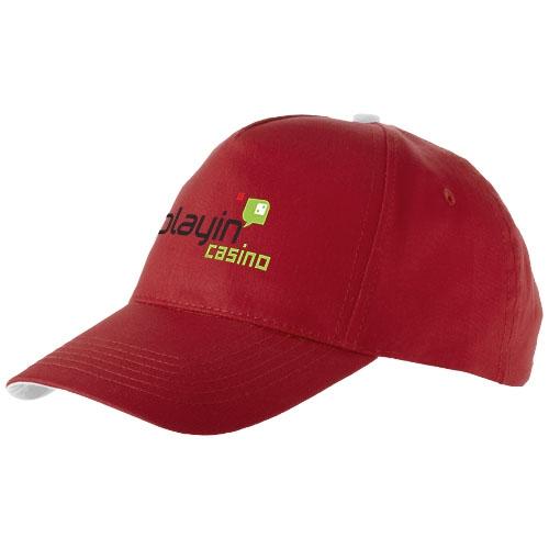 Casquette personnalisable Brunswick rouge - casquette publicitaire