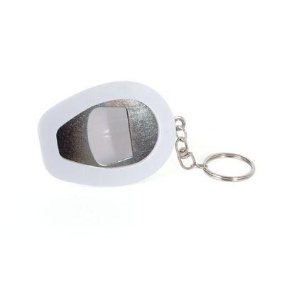 Porte-Cles personnalisable Casque Decapsuleur - porte-clés publicitaire