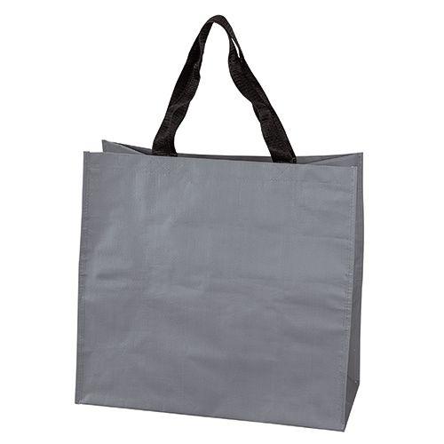Sac Shopping personnalisable pp tisse Dora - cabas de course publicitaire gris