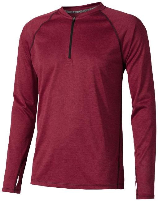 Tee-shirt publicitaire homme Quadra rouge - t-shirt personnalisable