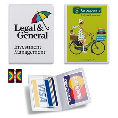 Porte-cartes publicitaire Action - objet publicitaire