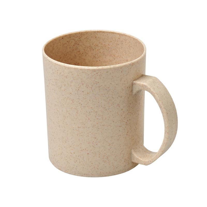 Cadeau d'entreprise 100% green - Mug réutilisable en fibres de paille de blé Pécos