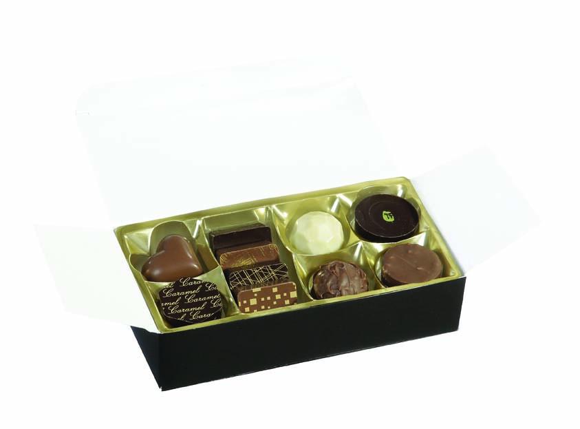 Chocolat publicitaire - Ballotin de chocolats De Boissy 125 g